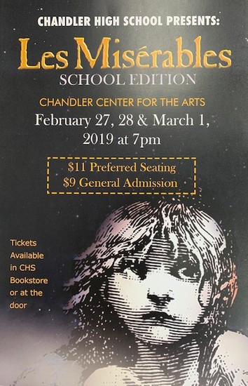 Les Miserables Flyer