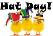 "Tuesday, March 14th ""Wear a Hat Day"""