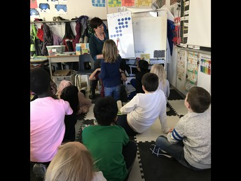 """Flexing our """"math muscles"""" with Dot Talks!"""
