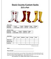 Student Activities Fundraiser - Get Your Socks!