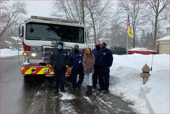 Tamanend 8th Grader Recognized by Warrington Fire Department