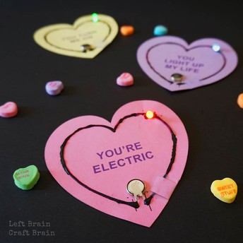 Simple Valentine's Circuits
