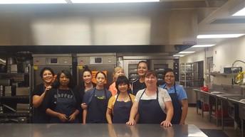 Award winning Cafeteria Staff