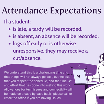 Distance Learning Attendance Policies