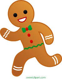 Gingerbread Man Running