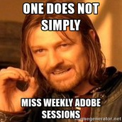 Adobe Help Session