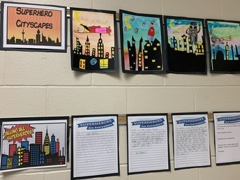 Our Superhero Cityscapes are striking - look at those colours and contrast!
