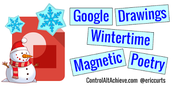 Wintertime Magnetic Poetry