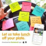 Let Us Take Lunch Off Your Plate