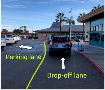 Drop-Off and Pick-Up Lanes