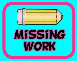 How do I know if my child has missing work?
