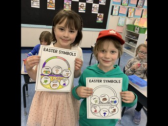 1/2F is learning about Easter