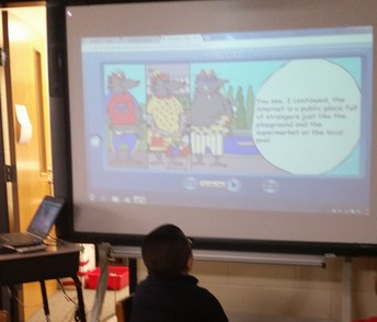 First & Second Grades Learn About Cyber Safety