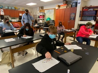 8th grade science is determining if substances are acids or bases.