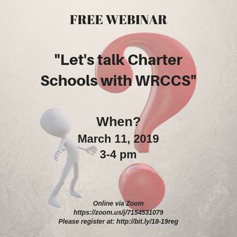 """Let's Talk Charter Schools with WRCCS"""