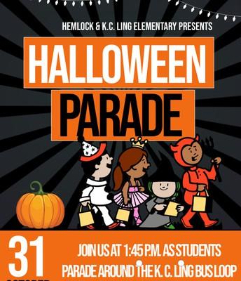 Halloween Parade - October 31st
