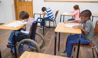 Pruebas para estudiantes con discapacidades