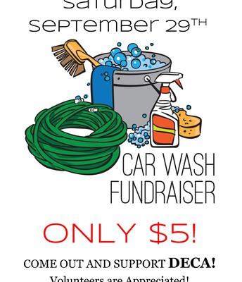 Tomorrow - Car Wash Fundraiser
