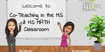 Co-teaching in the MS & HS Math Classroom