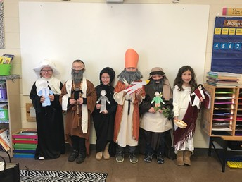 Take a Look at Our 2nd Grade, Modern Day Saints!