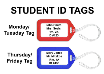 Student ID Tags
