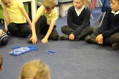 Using apparatus in Year 3.