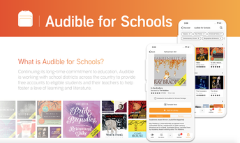 Audible is FREE to SHS Students!