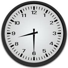 School begins at 8:30 a.m.