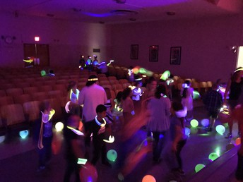 Rocket Run Glow in the Dark Dance Party was a GREAT SUCCESS!