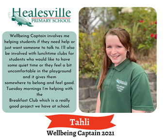 Tahli - Wellbeing Captain