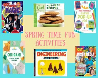 Spring Time Fun Activities