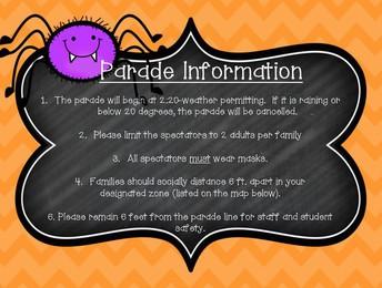 Parade Information