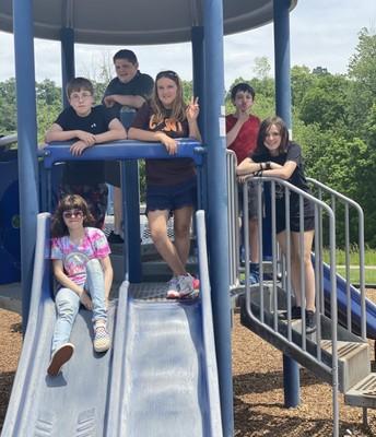 7th grade park day was a blast!