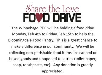 Share the Love Food Drive