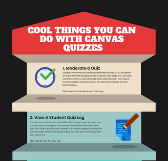 Cool Things You Can Do With Canvas Quizzes