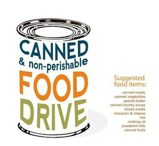 Lakeside Families-Canned Food Drive