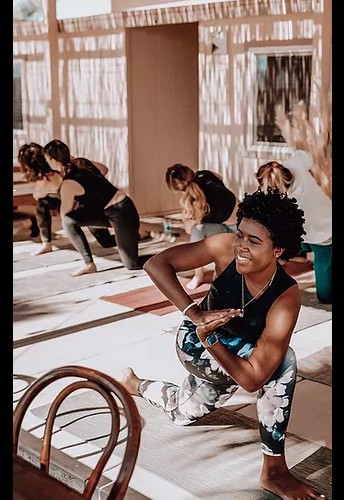 Bria Hamlet, WRC Educator-in-Residence Offers Yoga with an Emphasis on Communities of Color and LGBTQIA+ persons