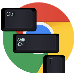 Ctrl-Shift-T