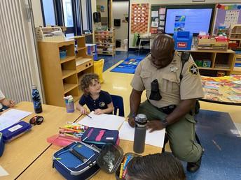 We love officer Washington!