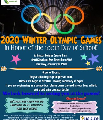 100th Day Winter Olympics Games