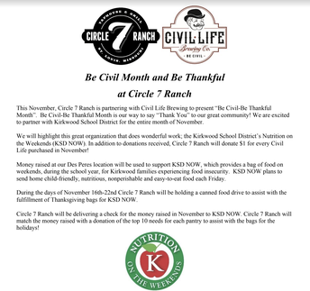 "KSD NOW Circle 7 ""Be Civil"" Promotion Still Underway"