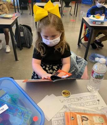 Kindergarten Read-to-Self