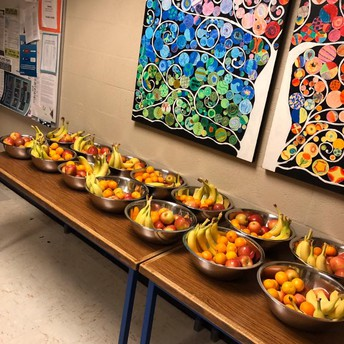 Healthy Snacks in Classrooms