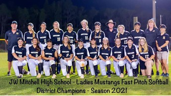 Varsity Girls Softball are DISTRICT CHAMPS!