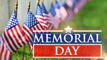 Memorial Day Weekend - NO SCHOOL
