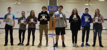 HMS 8th Grade Students of the Month
