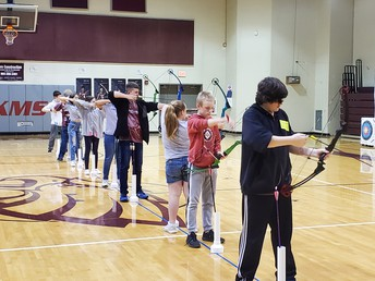 Archery at State Championships!