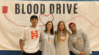 AHS Blood Drive with Red Cross