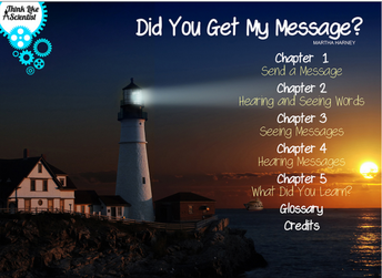 Did you get my Message? Read Aloud and Activities