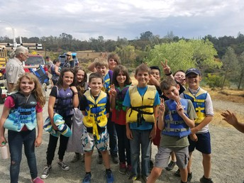 4th Grade field trip: Kayaking